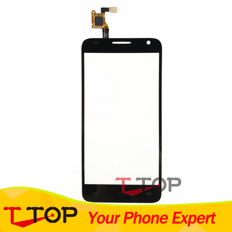 For Alcatel One Touch Idol 2 Mini S OT-6036 6036Y 6036D 6036A OT6036 Mobile Phone Touch Panel Screen Black Color 1PC/Lot