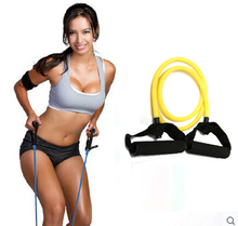 Tension Elastic fitness Exercise Sport Workout training Strap Stretching expander Belt Pull Rope Resistance Bands DR-JR026P(China (Mainland))
