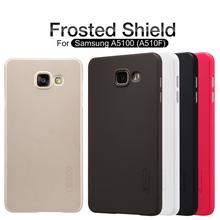 Case For Samsung Galaxy A3 A5 A7 2016 Nillkin Frosted Shield A510F A310F A710F Hard Back Cover With Screen Protector(China (Mainland))