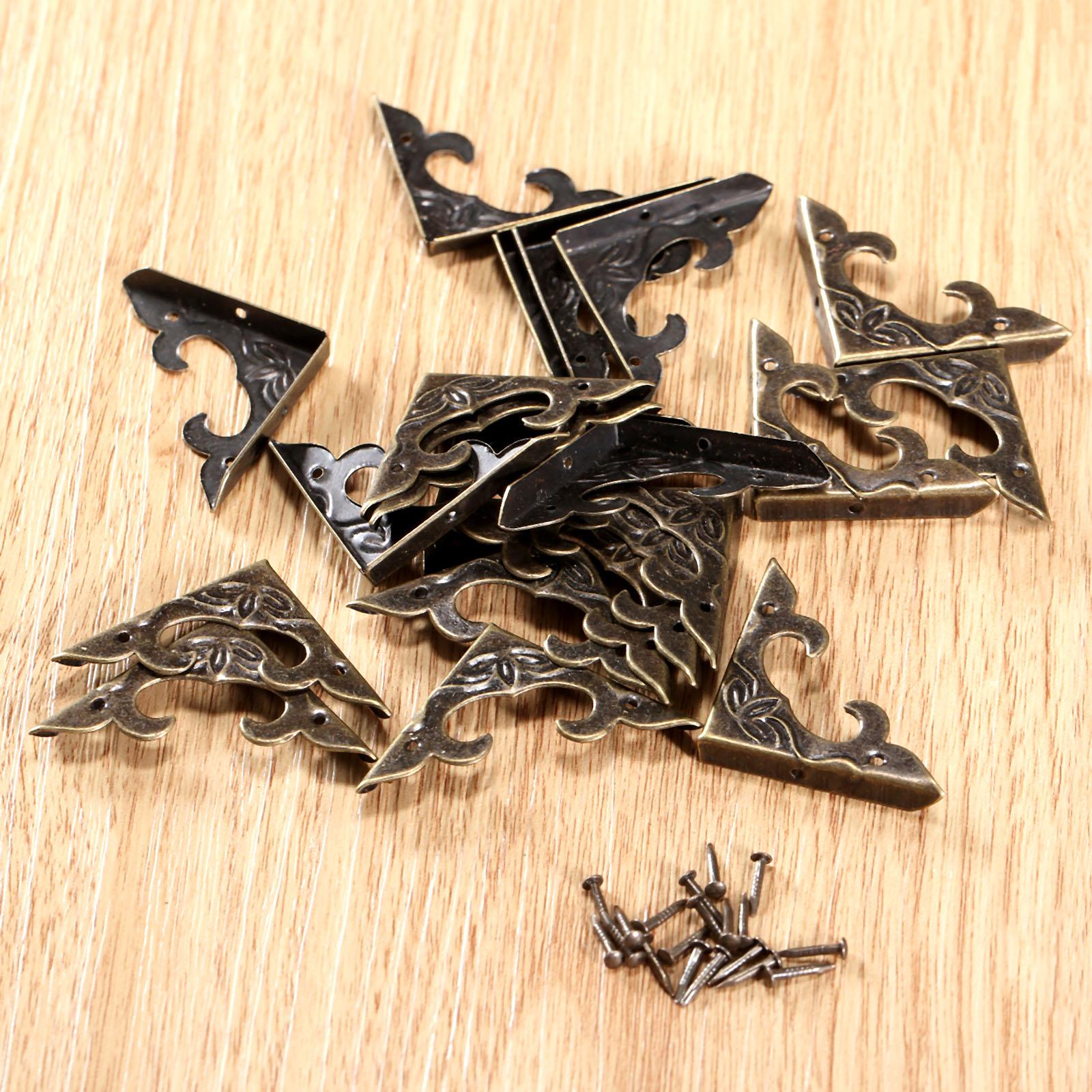 Artesano vintage 20 caja de herramientas de metal