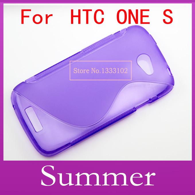 1 X S Line Soft TPU Case Cover For HTC One S Z520e(China (Mainland))