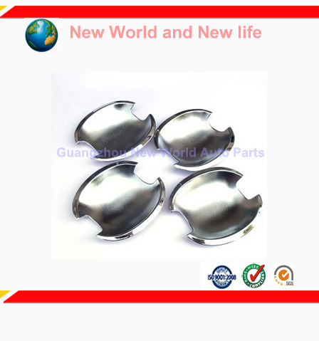 Free Shipping Triple Chrome Door Handle Cup Bowl for corolla 2010 2011 2012 2013 4PCS<br><br>Aliexpress