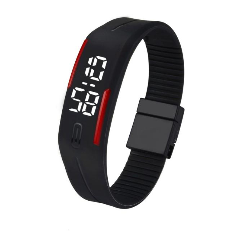 Fantastic 2016 new arrival Men Womens alarm clock Rubber LED Watch Date Sports Bracelet Digital WristWatches free Shipping Mar28<br><br>Aliexpress