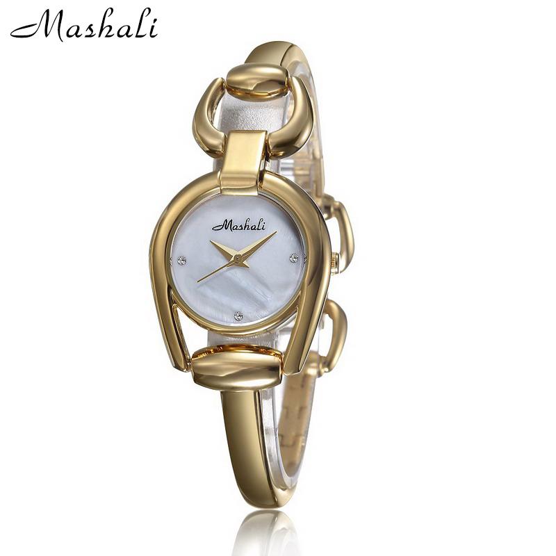 Hot Sale Luxury Full Steel Bracelet Rose Gold Silver Girl Women Dress Watches Unique Quartz Analog Wristwatch Relojes Mujer Gift<br><br>Aliexpress