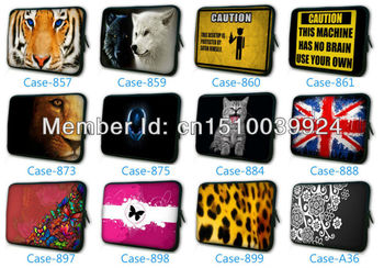 2013 Laptop Sleeve Bag Case Cover Pouch W/ Zipper For 7 7.9 8 8.1 8.2 Inch Mini Sony Dell HP Tablet PC Ebook MID Free Shipping