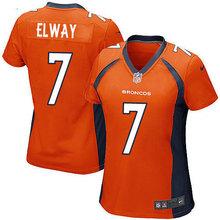 Stitiched,Denver Broncos John Elway Emmanuel Sanders Peyton Manning Von Miller Demaryius Thomas Terrell Davis for women(China (Mainland))
