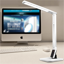 LED Indoor Lighting Folding lamp dimmable Desk Light Table Lamp for bedroom living room Multifunction with USB port(China (Mainland))