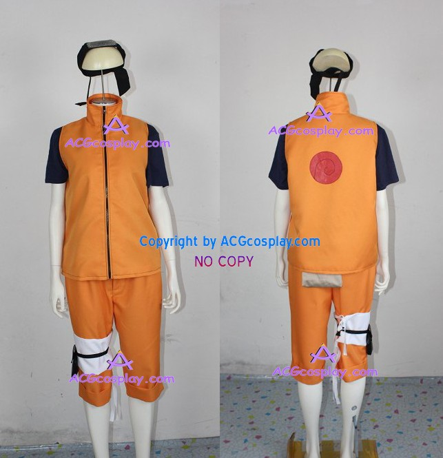 Naruto Team 7 Team Kakashi Naruto Uzumaki Cosplay Costume cosplay365buy high quality
