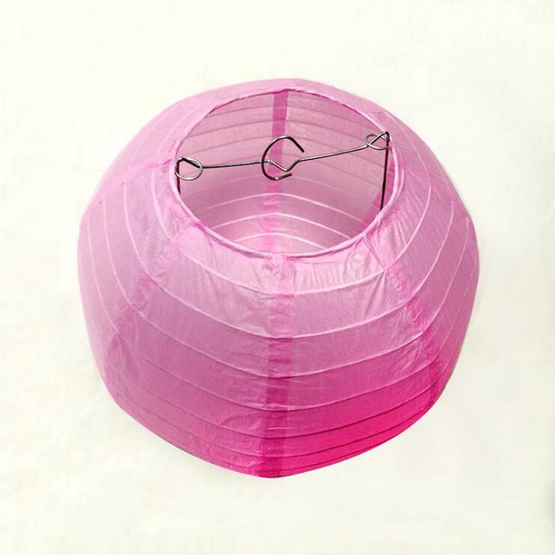 10pcs/Lot 15~20~25~30~35~40cm Free Shipping Chinese pink Paper ...