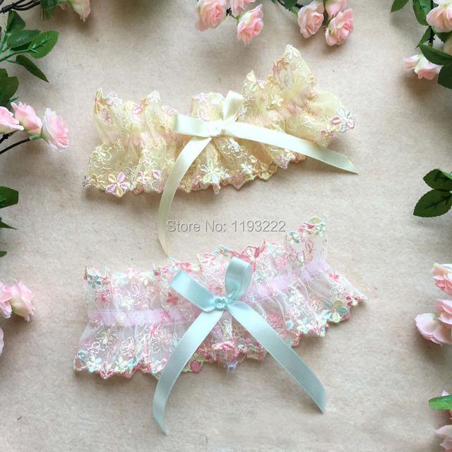 Роскошные вышивки кружева цветочные бедренной кости высокие подвязки свадьбы косплей ...