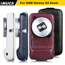 Case for For Samsung Galaxy S4 Zoom Luxury Vertical Flip Leather Case Cover For Samsung Galaxy S4 Zoom C101 C1010 W/ Retail Box(China (Mainland))