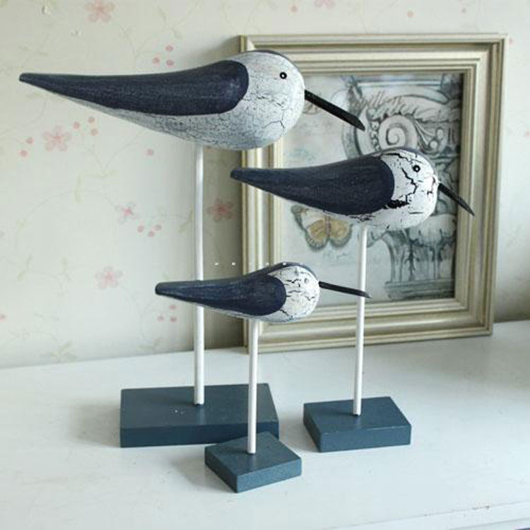 Mediterranean sea bird furnishing articles decoration for Article decoration