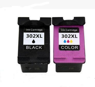 1set For HP302XL Compatible Black/Color For HP 302 XL Ink Cartridge 302XL For HP ENVY4520 Officejet4650 Deskjet 3630<br><br>Aliexpress