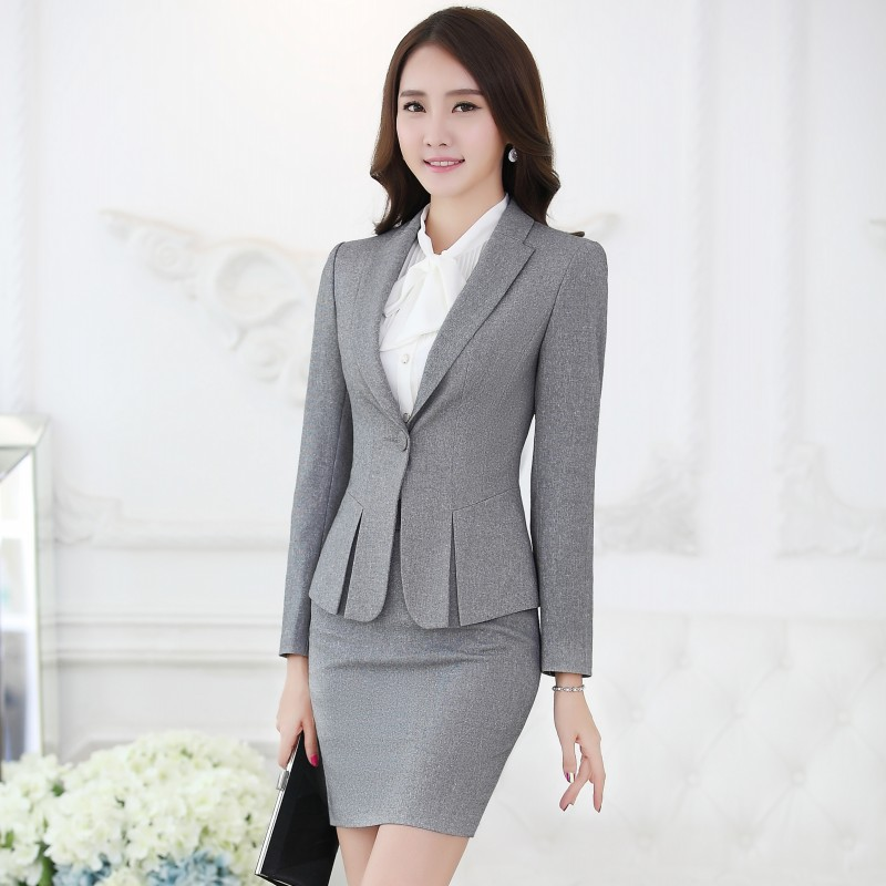 formal women skirt suits blazer and jacket sets fashion