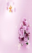 Photography Background New Arrival Flowers Courtship Photo Studio Valentine'S Day Zzj26