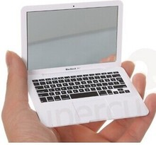 MacBook Air mirror lady make up mirror notebook mirror HP091(China (Mainland))