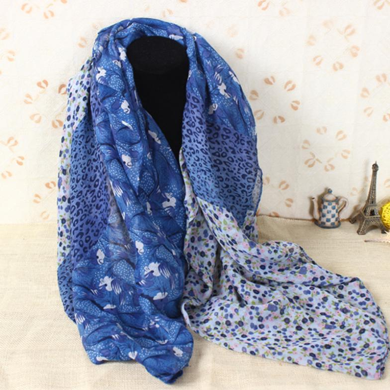 2015 New Stylish Girl Long Soft Silk Chiffon Scarf Wrap Polka Dot Shawl Scarve Winter Polyester Voile Scarf Shawl S3812(China (Mainland))