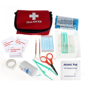 11 Pcs/Set Hot sale Good Emergency Survival First Aid Kit Pack Travel Medical Sports Home Bag outdoor car mini First Aid Kits(China (Mainland))