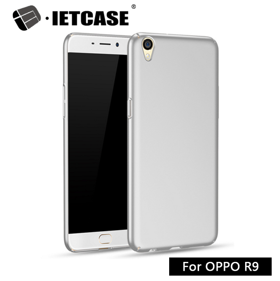 2016 mobile phone shell OEM/ODM Luxury Metal Case PC gift item buy from China supplier small plastic case cover for oppo R9(China (Mainland))