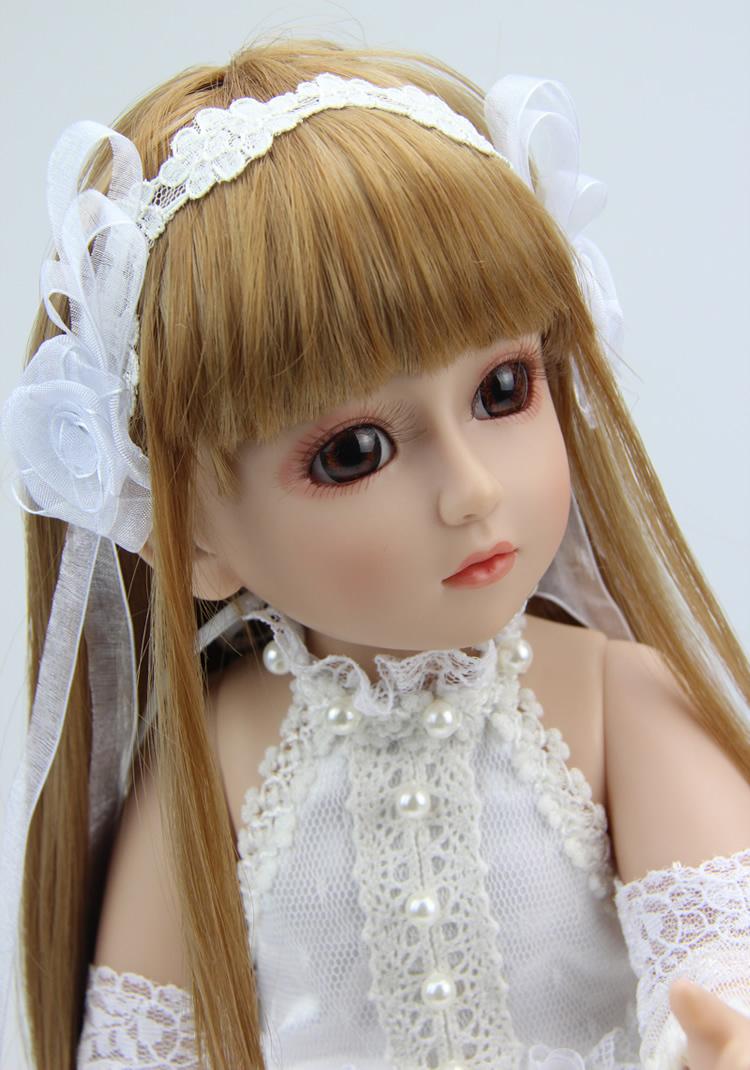 Fashion 18 Inch High Quality Bjd Girl Doll Vinyl Sd Doll