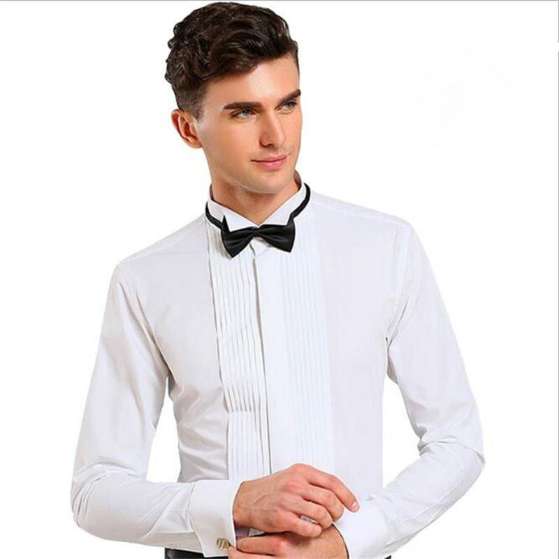 NCLAGEN Top Quality New Spring Men Dress Shirt Long Sleeve Luxury Camisa Musle Fitted Male Wedding Clothes Slim Cloth Size S-4XL