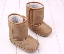 2016 new winter circle bottom suede lint baby toddler shoes baby soft bottom shoes(China (Mainland))