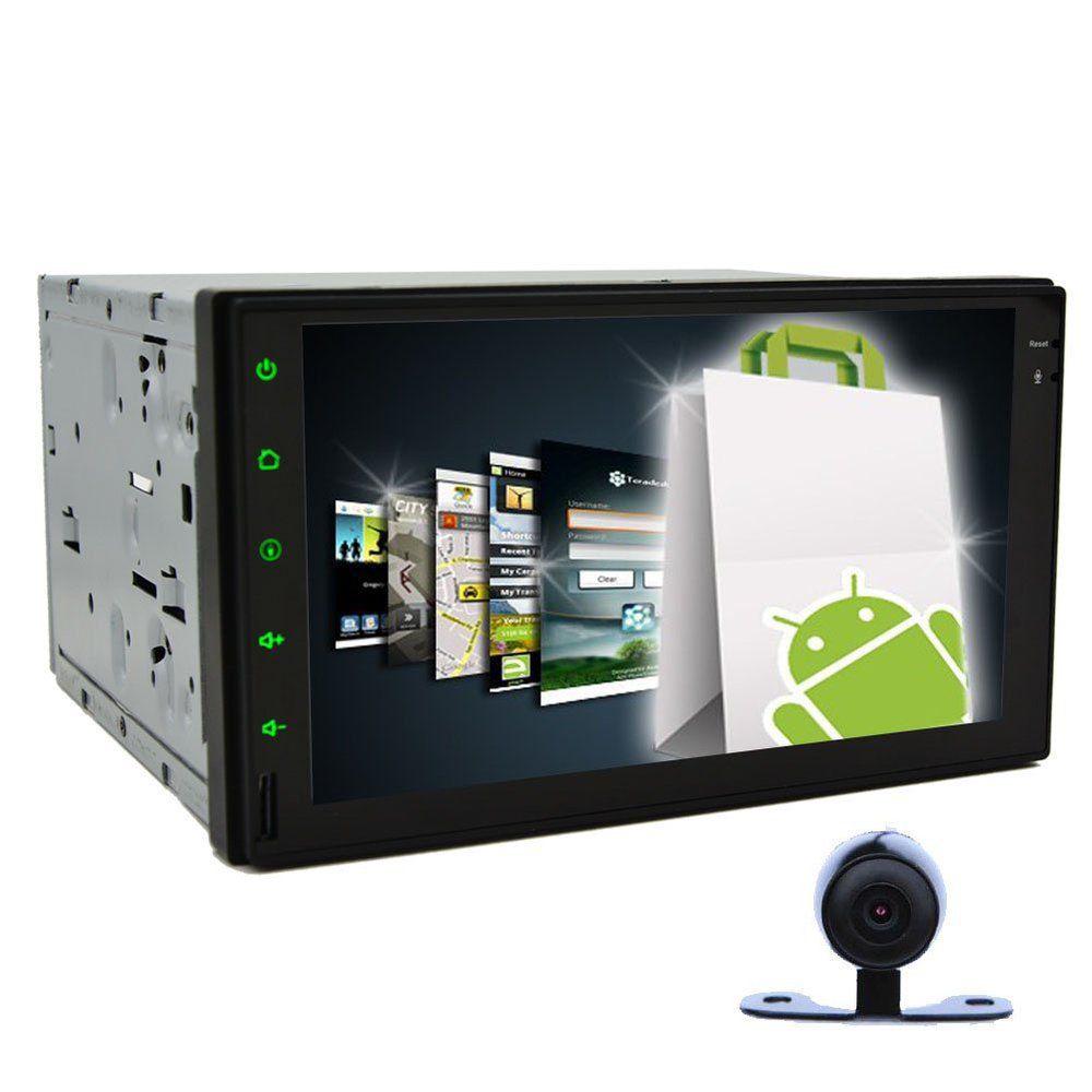 Double 2 Din Android 4.2 In Dash GPS Navigation Car Tablet PC 7'' HD Car Audio Radio Stereo None-Disc DVD Player BT iPod+Camera(China (Mainland))