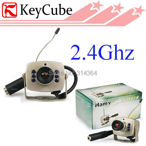 Mini 2.4GHZ Wireless Color Camera IR Cam CCTV C208 Night Vision(China (Mainland))