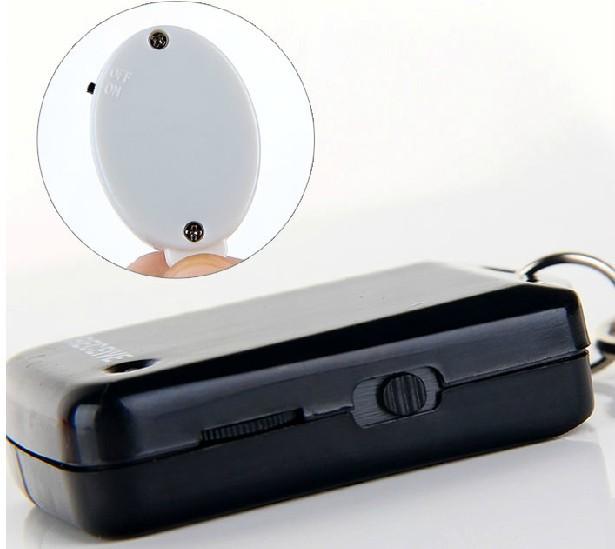 Дети двусторонний беспроводной ключ позиционирования anti потерянный сигнал тревоги расстояние телефон бумажник трекер один метр будильник