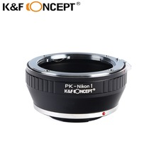 Buy K&F CONCEPT Lens Mount Adapter Pentax K Mount PK Lens Nikon 1-Series Camera Adapter Ring PK-Nikon 1 PK Nikon Adapter for $21.59 in AliExpress store