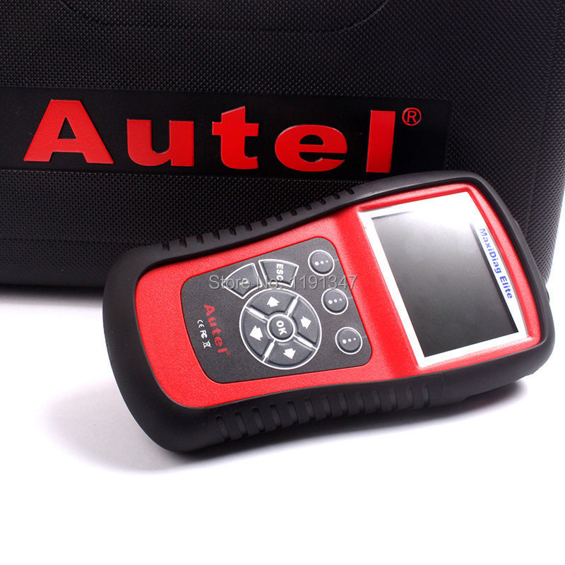 Autel Maxidiag Elite MD702 With Data Stream Function European Vehicles for 4 System Update Online Diagnostic Tool(China (Mainland))