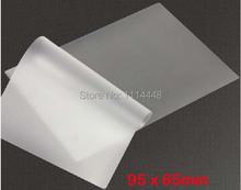 "7.5C 3"" PET film photo laminating film card protect film 50pcs/bag(China (Mainland))"