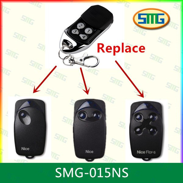 3X FLOR-S Nice Handsender, NICE FLO2R-S Sender, Remote control transmitter free shipping(China (Mainland))
