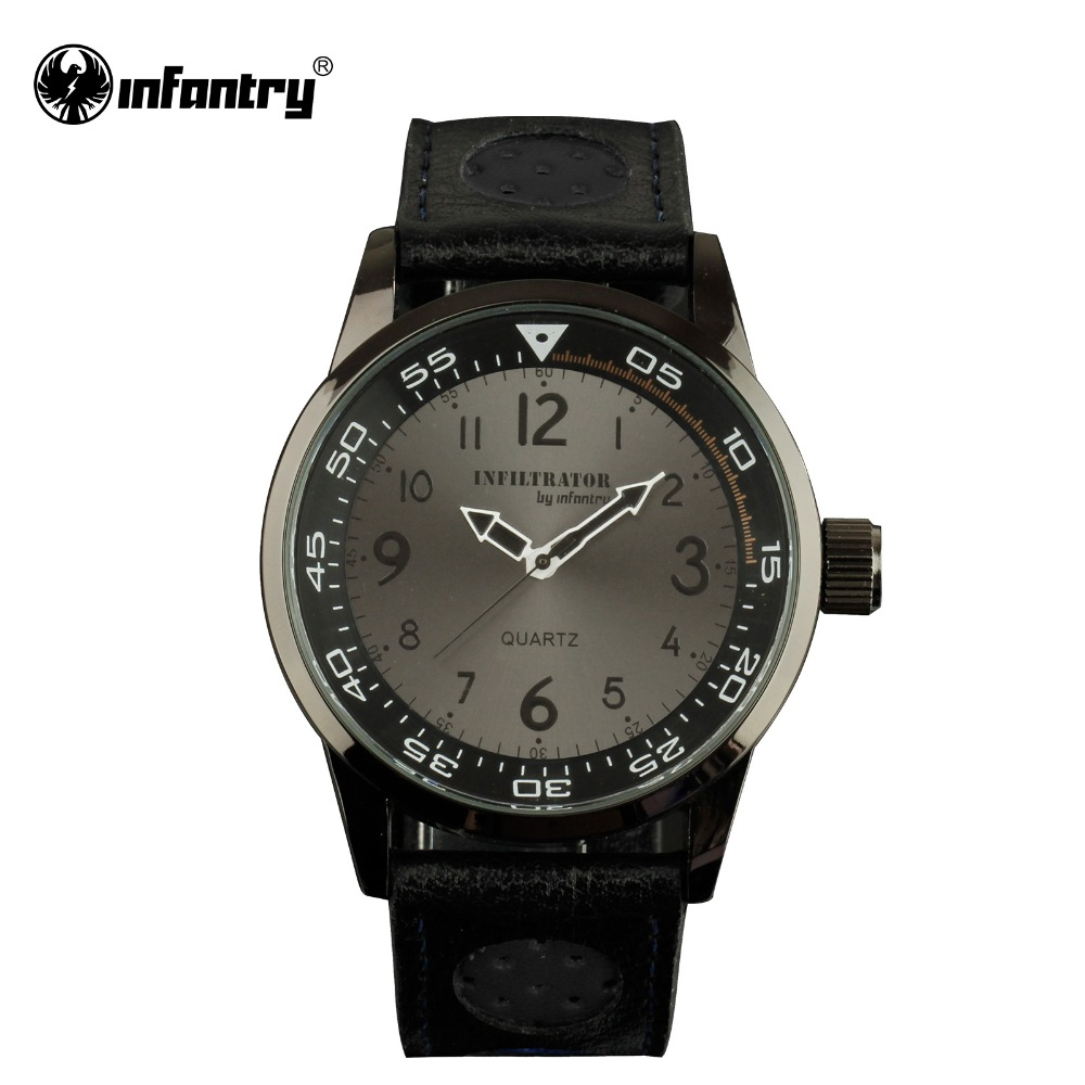 aliexpress buy infiltrator mens watches pu leather