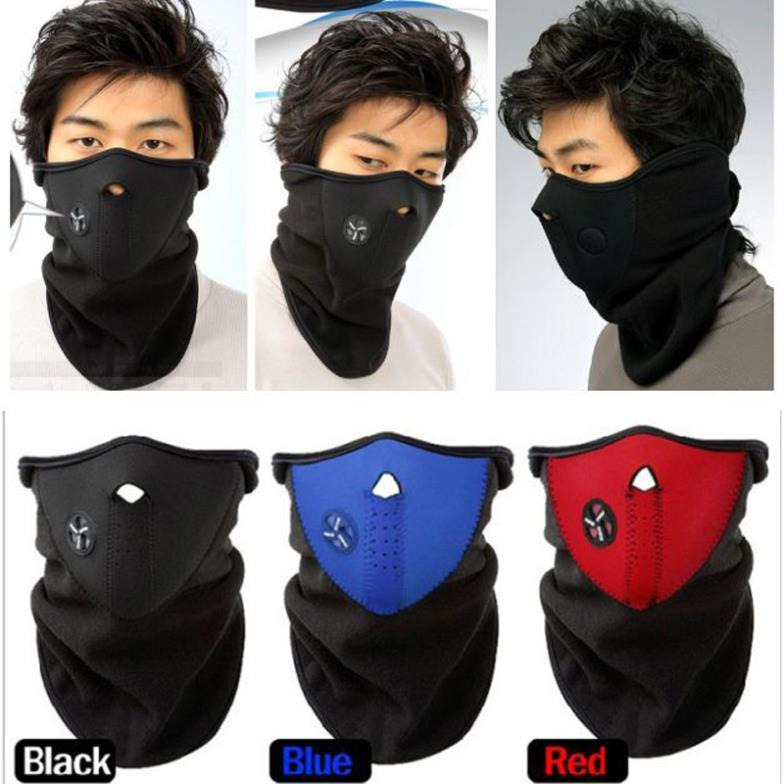 2015 Hot Sale Half Face Mask Neck Warm New Ski Snowboard Bike Motorcycle Outdoor Sports Neck Veil 3 Colors(China (Mainland))
