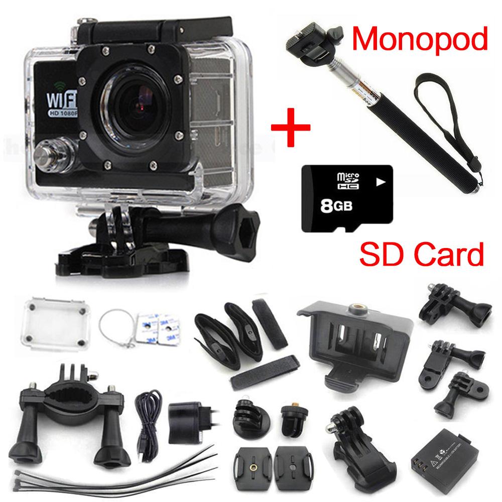 Action Camera SJ6000 WIFI Original Diving 30M Waterproof 1080P 2.0inch LCD Camera Underwater Sports Cameras gopro mini cam<br><br>Aliexpress