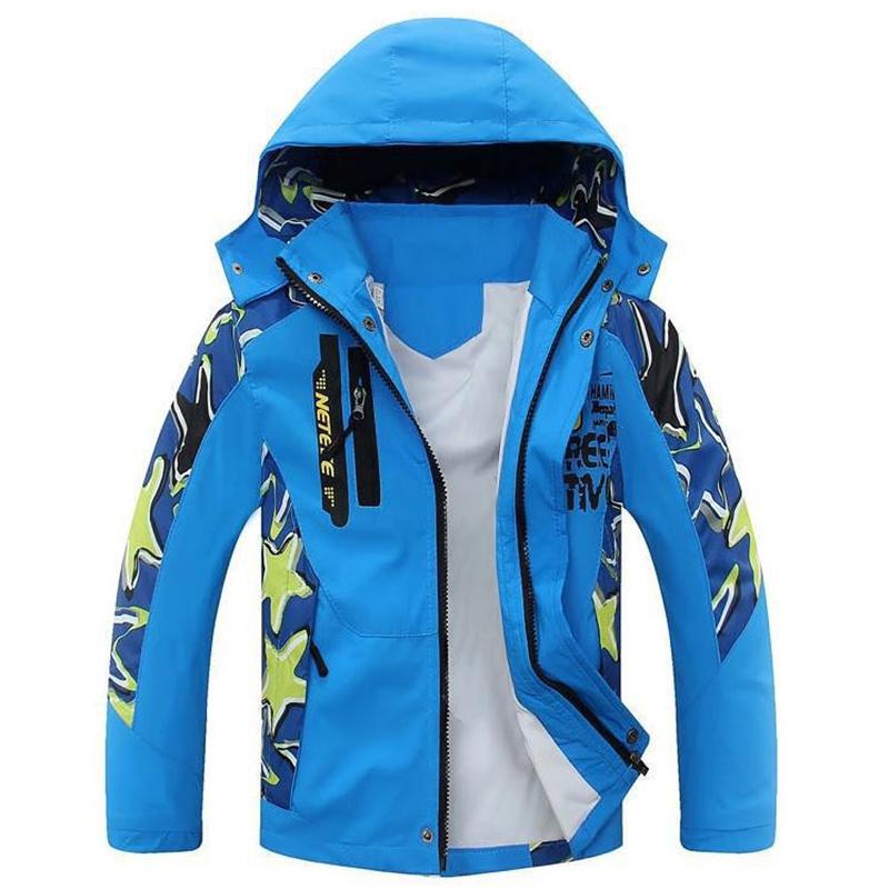 Children Windbreaker 2016 Autumn New Kids Boy Camouflage Jacket Double-deck Waterproof Coat Outerwear Boys Jackets 4-13 Years(China (Mainland))
