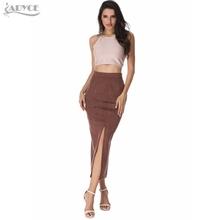 Wholesale brown maxi skirt