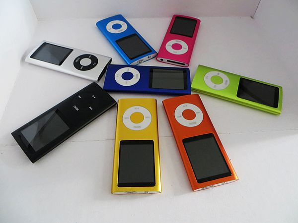 16GB 4TH MP3 MP4 Players FM Radio/Ebook Reader 9 colors for choose DHL shipping 20pcs/lot(China (Mainland))