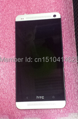 HTC ONE M7 801 LCD Display screen +digitizer Touch screen with freeshiping(China (Mainland))