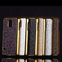 S5 MINI Case Luxury 3D Football Line Skin Electroplated PC Hard Cover Case for Samsung Galaxy S5 MINI Mobile Phone Cases Bags(China (Mainland))