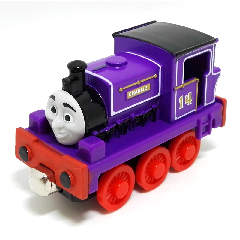 T0059 Diecast THOMAS and friend Charlie The Tank Engine take along train Magnetic metal children kids toy gift(China (Mainland))