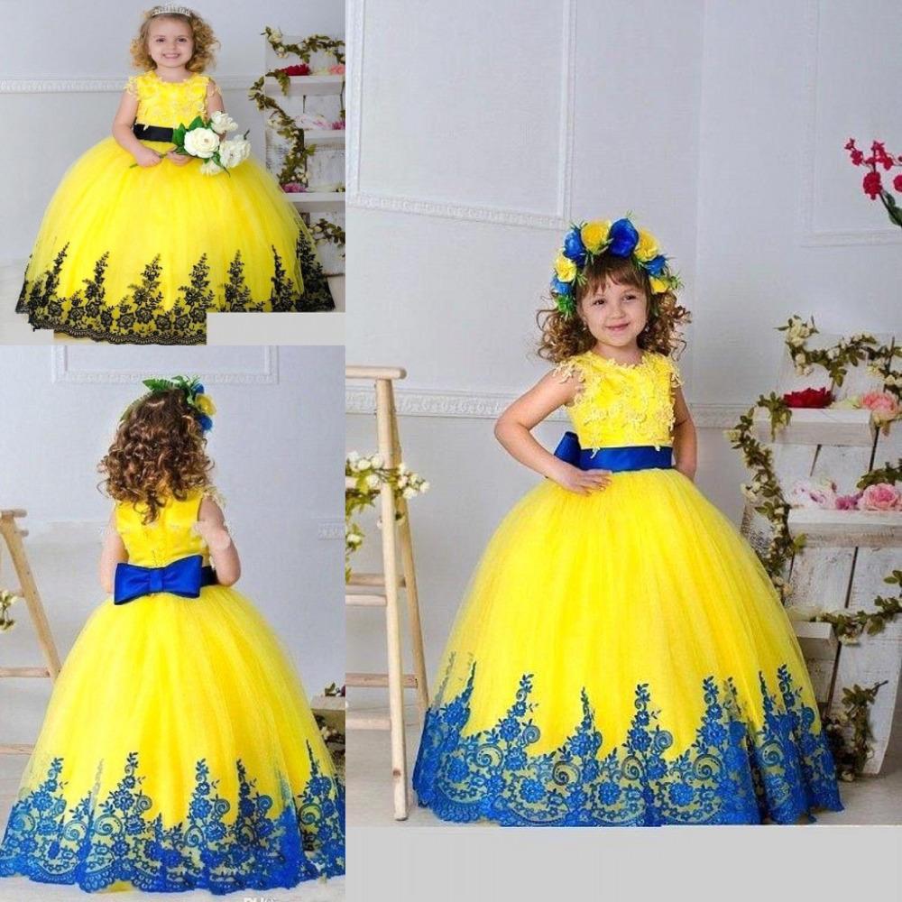 Cheap Yellow Flower Girl Dresses Images Flower Wallpaper Hd