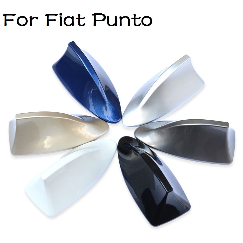 Hight Quality Car With Blank Radio Shark Fin Antenna Signal Shark Fin With 3M Adhesive for Fiat Punto(China (Mainland))