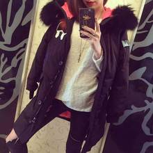 The New Europe Trade In Winter 2016 True Collars Embroidery Pattern Cultivate One's Morality In MS Long Goose Down Jacket(China (Mainland))