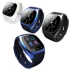 Smartwatch M26 Bluetooth Smart Watch Alitmeter Music Player Pedometer For Apple/Samsung S5/S6 HTC Android Smartphone gift Wear