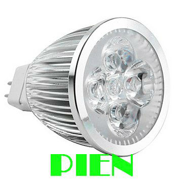 5W LED Light MR16 Spotlight bulb DC 12V Bedroom Display Energy saving Warm|Cold white 450LM CE&ROHS by Express 100pcs/lot(China (Mainland))