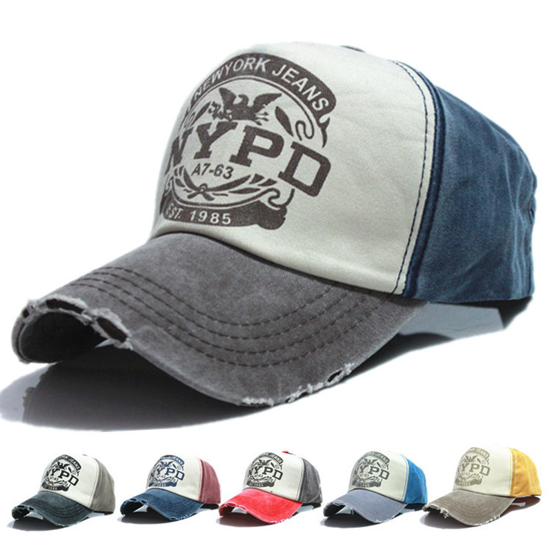2015 hot cotton brand fitted hats Baseball caps wholesale Casual Outdoor sports snapbacks for men women letter printed adult(China (Mainland))