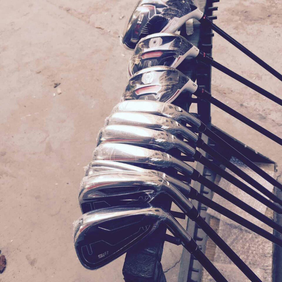 Free Shipping Customize Golf Service 2015 R 15 Complete set Golf + RS I 1 Golf Irons+Headcovers(China (Mainland))