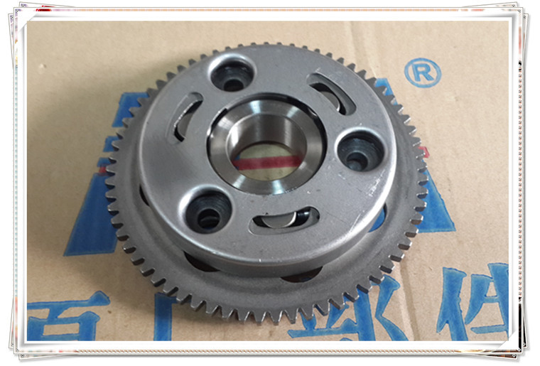 New high quality motorcycle accessories GN250 start clutch one-way ball plate + market + start set screws(China (Mainland))